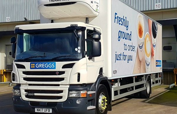Greggs uses Paragon's routing and scheduling software for multi-drop route plans to remove miles