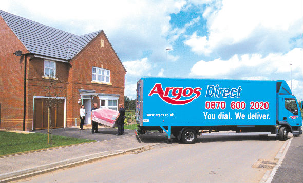 Argos Direct has selected Paragon's Multi Depot routing and scheduling software to support home delivery