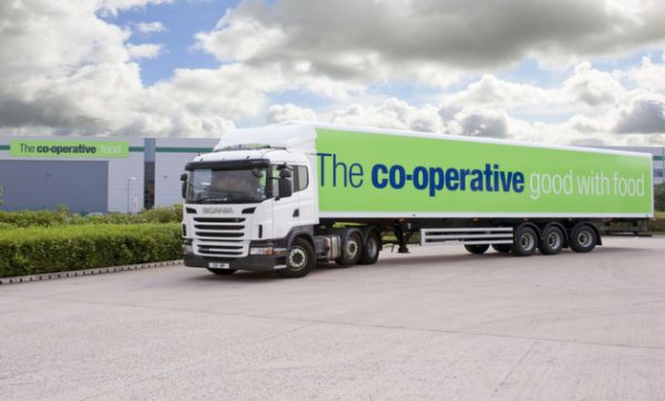 The Co-operative cuts miles and carbon emissions since introducing Paragon's dynamic transport planning solution