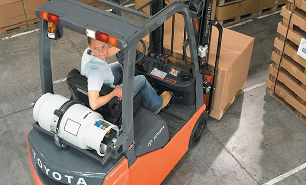 Paragon's routing and scheduling software gives Toyota Material Handling the ability to life efficiency