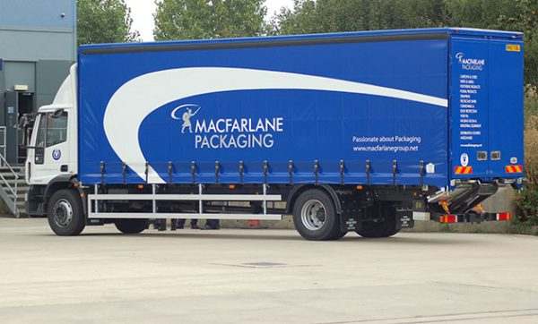 Macfarlane Packaging makes savings on fleet and fuel use with Paragon's routing and scheduling software