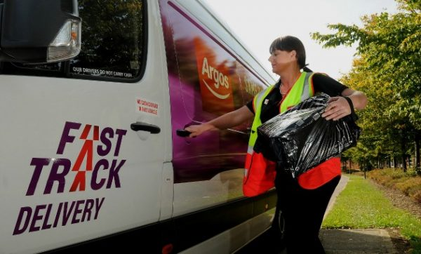 Success for Paragon Software Systems as its order fulfilment software supports Argos' Fast Track deliveries during Christmas