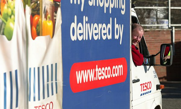 Paragon's routing and scheduling software supports Tesco Direct in meeting order fulfilment objectives