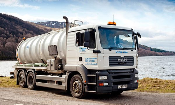 Scottish Water uses Paragon's routing and scheduling software to enhance its waste management services