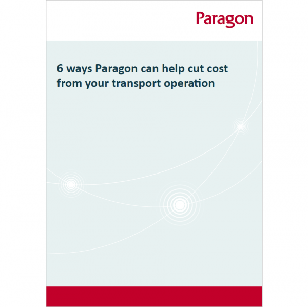 Thumbnail of Paragon's whitepaper: 6 ways Paragon routing software can help cut cost from your transport operation