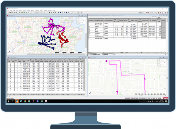 Paragon Software Systems' Live Planning on Paragon Workbench