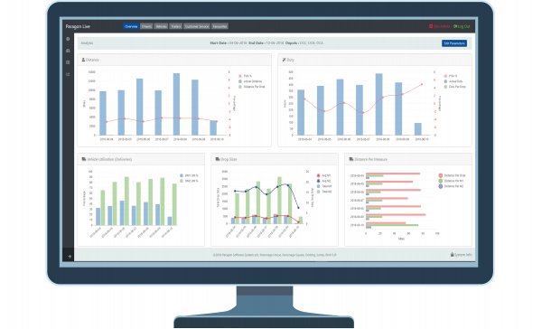 Paragon Software Systems' route optimisation and live daily planning