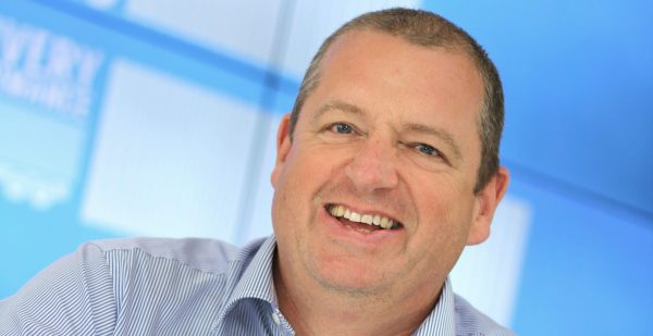 William Salter, Managing Director of Paragon Software Systems, leading routing and scheduling software provider