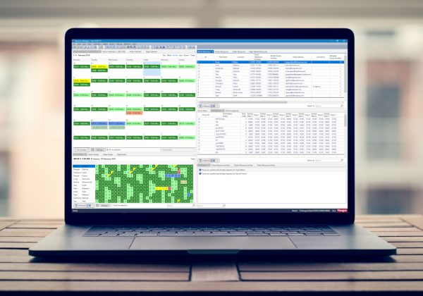 Version 6.10 is the latest version of Paragon's routing and scheduling software